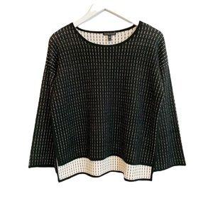 BOGO! Eileen Fisher Boxy Silk Organic Cotton Sweater